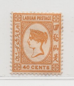 Malaya Labuan - 1892-93 - SG47 - 40c - MH #681