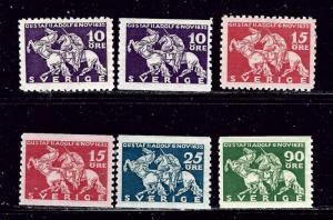 Sweden 230-35 MH 1932 set