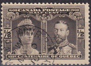 Canada #96 F-VF Used CV $5.00 (Z6119)