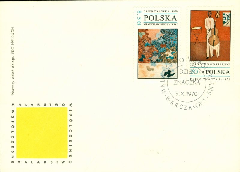 POLAND  1763-70 ON 4  FIRST DAY COVERS  BIN $6.00