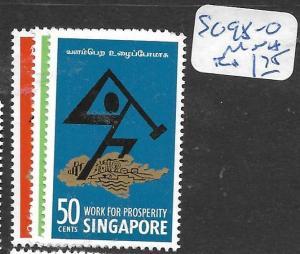 SINGAPORE  (PP0107B) PROSPERITY   SG 98-100    MNH