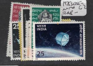 India SG 755-62 MNH (2dsc)