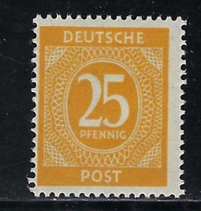 Germany AM Post Scott # 546, mint nh