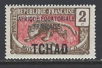 Chad Sc # 20 mint never hinged (RS)