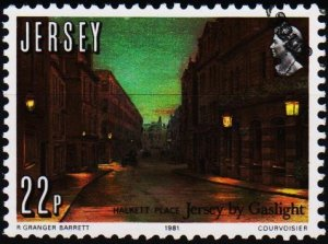 Jersey. 1981 22p S.G.282 Fine Used
