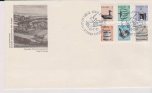 CANADA FDC FROM CANADA POST OFFICE STAMPS #917-922 LOT#M140