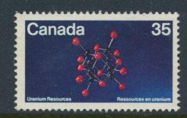 Canada  SG 988 Used no postal cancel no gum