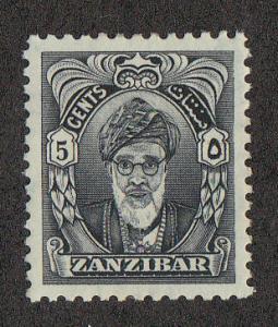 Zanzibar Sultan (Scott #230) MH