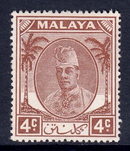 Malaya (Kelantan) - Scott #53 - MH - SCV $1.75