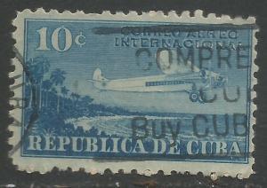 CUBA C5 VFU AIRPLANE O567-6