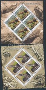 Romania stamp Reptiles mini sheet set MNH 2011 Mi 6485-6488 WS190002