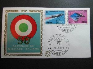 9583 Italia 1973 Aeronautica Militare Forlì FDC