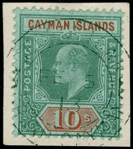 Cayman Islands Scott 30 Gibbons 34 Used Stamp