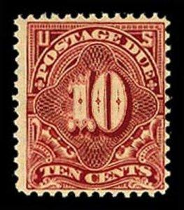 U.S. POSTAGE DUE J49  Mint (ID # 62622)