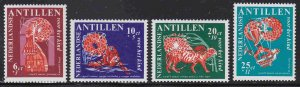 Netherlands Antilles #B81-84 F-VF Mint NH ** Folklore