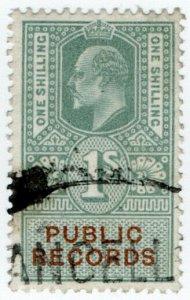 (I.B) Edward VII Revenue : Public Records 1/-