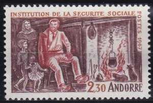 Andorra - French Issues 177 (1967)