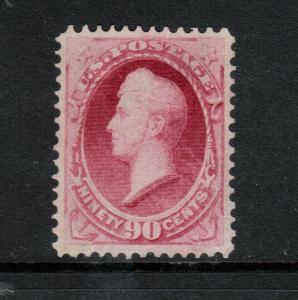 USA #155 Very Fine Mint Regummed Lightly Hinged