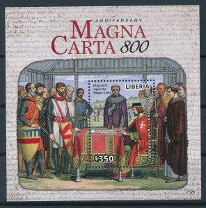 [I161] Togo 2015 Emblems Magna Carta 800 good sheet very fine MNH