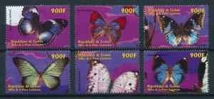 [97733] Guinea 2001 Insects Butterflies  MNH