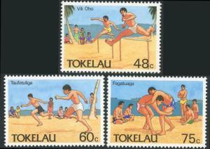 Tokelau Islands #147-149 SHORT Set Olympic Sports MNH