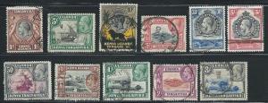 Kenya Uganda Tanganyika 46-9 51-57 1935 KGV Various Short...