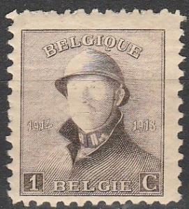 Belgium #124 F-VF Unused (V3778)
