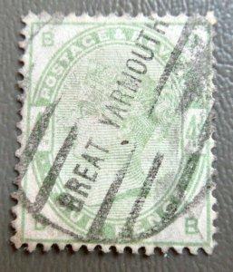 1883 Great Britain 4p Victoria Stamps #103 CV $210