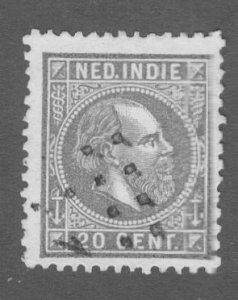 R84-0002 NETHERLANDS INDIES 12 USED SCV $3.75 BIN $1.75