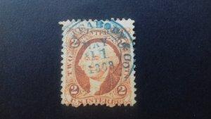 United States 1868 Dept pof Internal Revenue  Used