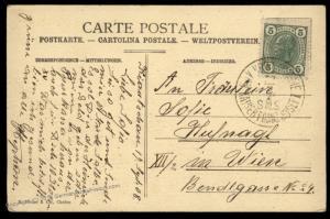 Austria 1908 Kiautschou Chefoo China SMS Kaiser Franz Josef Feldpost Cover 91158