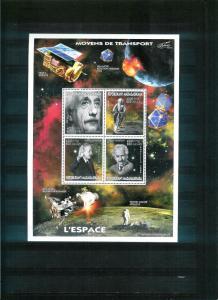 Madagascar - SPACE - ALBERT EINSTEIN - big sheet - MNH
