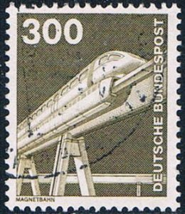 Germany 1191 Used Monorail 1975 (G0453)