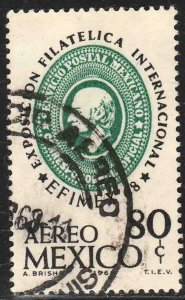 MEXICO C333, Efimex68 Int Philatelic Exhibition. USED. VF. (793)