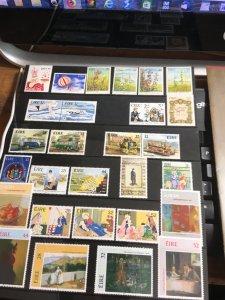 Ireland 1993 Commem. 28 Diff. Stamp P.O. Folder VF-NH 2015 Cat. $39.20+ #885-912