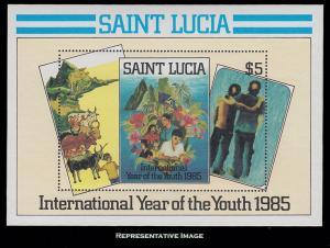 Saint Lucia Scott 795 Mint never hinged.