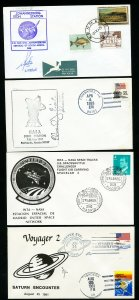 US Lot of 10 Shuttle Space Flight Stamp Covers