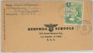 81664 - GUATEMALA  - Postal HIistory - COVER from FRAIJANES  to USA 1954
