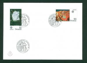 Sweden.  FDC 1975  Europa IV. The Painter's Art
