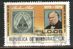 Honduras  Scott C690 Used  airmail stamp