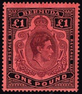 Bermuda #128b King George VI; Unused (4Stars)