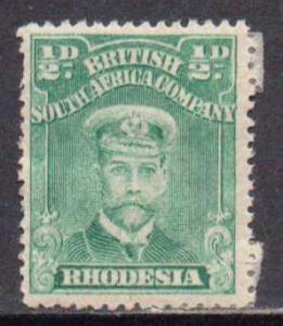 Rhodesia  #119  MH  (1913)  c.v. $9.25