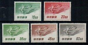Ryukyu Scott C9-13 Mint NH [TE230]