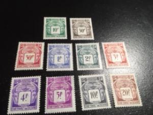 French Polynesia sc J18-J27 MLH comp set