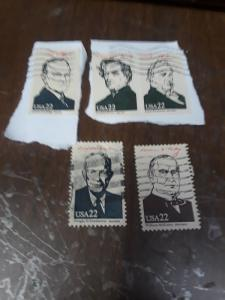 22c Presidents With Tagging