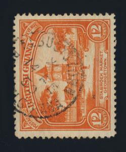 GUYANA / BRITISH GUIANA - 1950 - ALBUOYSTOWN SNGLE CIRCLE DS ON SG293