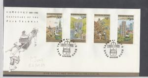 Hong Kong Stamps Cover 1988 Ref: R7581