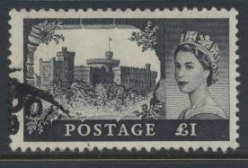 Great Britain  SG 598a SC# 374 Used  Wilding definitive  BW Printing