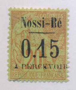 Nossi Be Stamp Scott #J14, Used - Free U.S. Shipping, Free Worldwide Shipping...