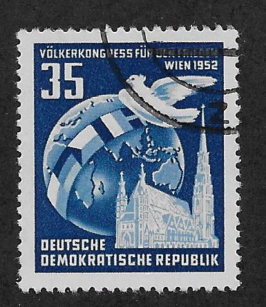 GERMANY - DDR SC# 119 FVF/CTO 1952